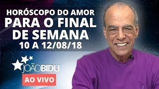 Horóscopo do amor para o final de semana e simpatia para superar problema financeiro.