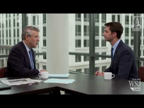 Arkansas Senator Thomas Cotton on events in Iraq, negotiations with Iran, and life in the US Senate