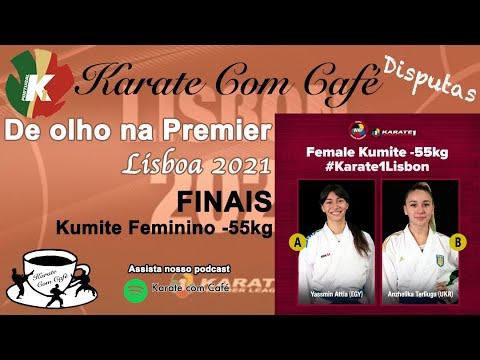 FINAL KUMITE FEMALE -55kg - WKF Premier League Paris 2021 - Karate Com Café