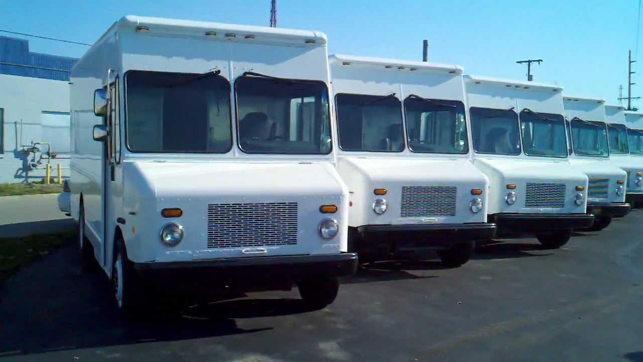 Large Group 2006 Workhorse Stepvans