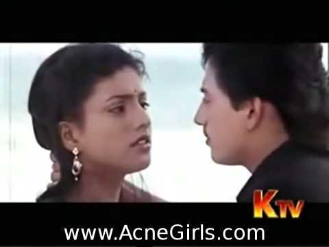 Roja Prashant Kiss Hot Scene   YouTube thumbnail