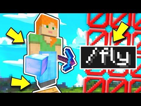 HO VISTO QUALCUNO USARE LA FLY!! — TROLL AL HACKER | Minecraft ITA