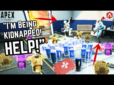 Becoming A 'SHOP KEEPER' In Apex Legends Get's Me KIDNAPPED! #01 Apex Funny Moments