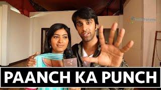 Rajshri and Sahil Take The 5Ka Punch Challenge