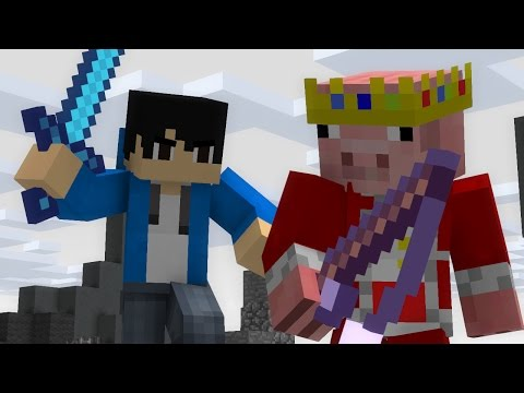 Skywars : Lag | Minecraft Animation