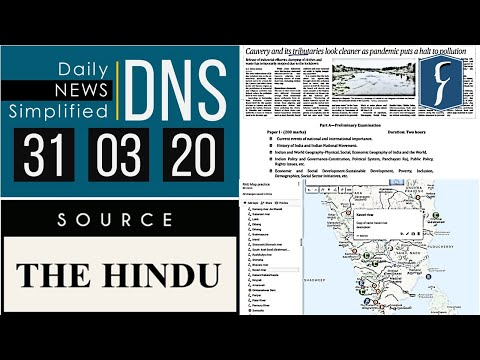 THE HINDU Analysis, 31 March 2020 (Daily News Analysis For UPSC) – DNS