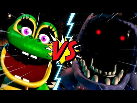HAPPY FROG VS WITHERED BONNIE - La Liga de FNAF | FIVE NIGHTS AT FREDDY'S ULTIMATE CUSTOM NIGHT (J1)