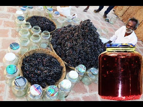 100 KG Grape wine making my Daddy ARUMUGAM / Village food factory
