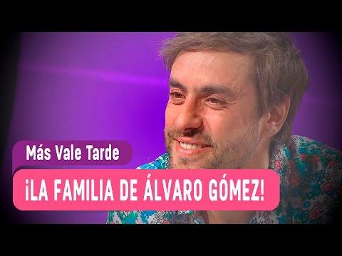 El saludo de la familia de Álvaro Gómez - Más Vale Tarde 2016