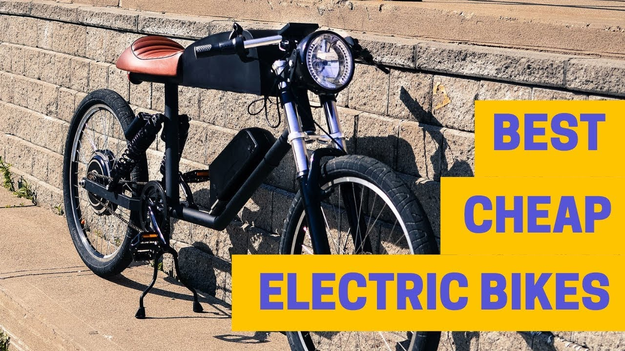 Best Cheap Electric Bikes Affordable E Bikes 2019 >> Best Cheap Electric Bikes 2019 Top 5 Affordable E Bikes