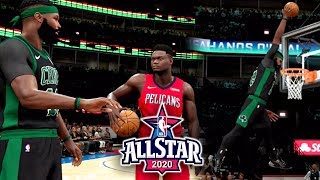 FREE THROW LINE DUNK! (All-Star Dunk Contest) NBA 2K20 My Career Gameplay Paint Beast