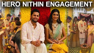 Hero Nithin Engagement Photos | Nithin | Shalini