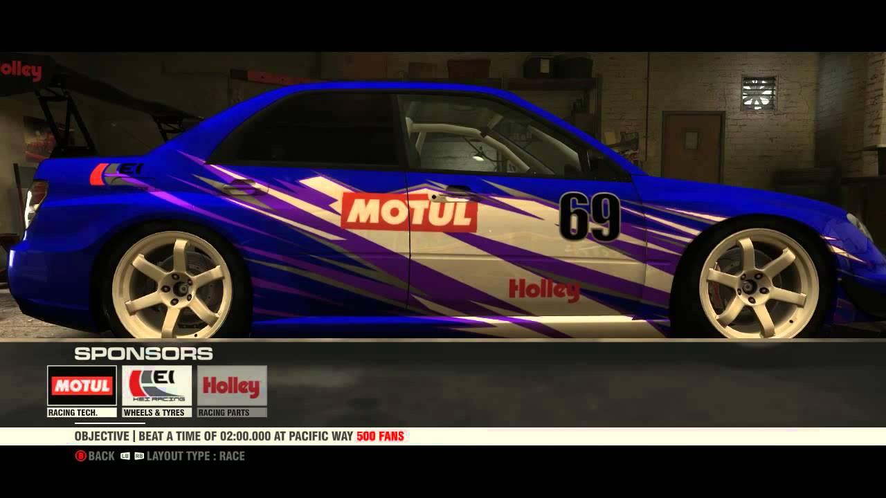 Lets Customize Subaru Impreza Wrx Sti Super Modified Grid2 Youtube