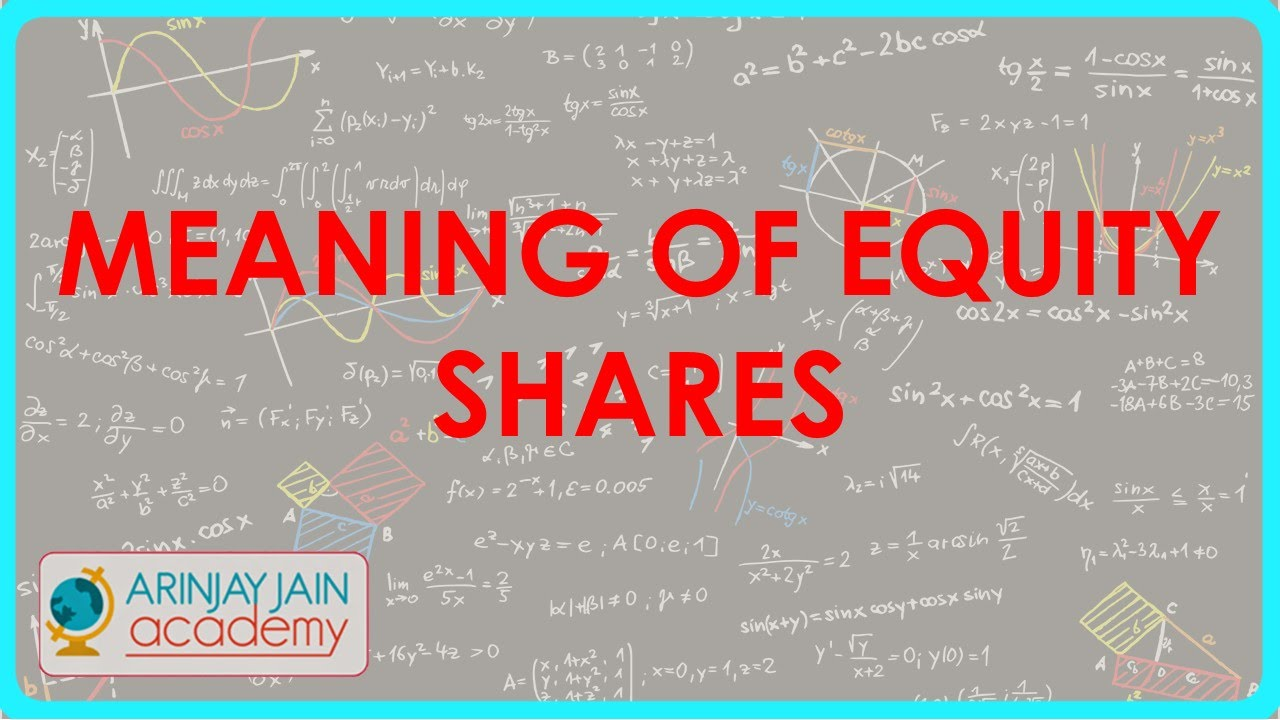 meaning of equity shares