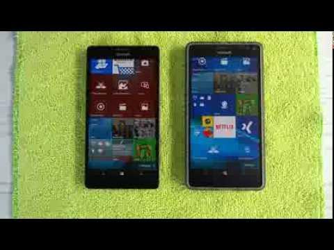 Lumia 950 XL: VF-ROM vs  CV-ROM
