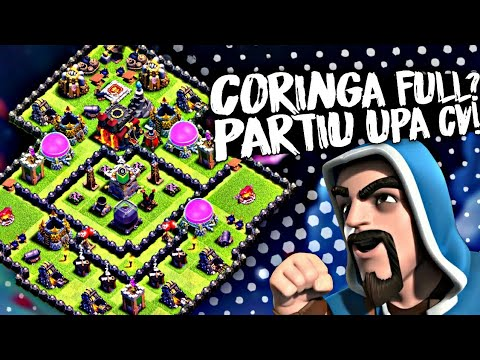 MINI MAX FULL? PARTIU UPA CENTRO DE VILA! - Clash Of Clans