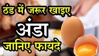ठंड में जरूर खाइए अंडा, इसे खाने के 10 फायदे जानकर आप हैरान हो जाएंगे | Health Tips: Egg Benefit