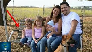 التقط صور مع عائلته ولكن بعد مشاهدة الصور تفاجئوا بوجود شيء صدمهم جميعا