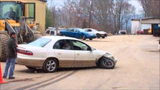 JUNKING A CHEVY MALIBU HOW TO MAKE MONY JUNKING CARS
