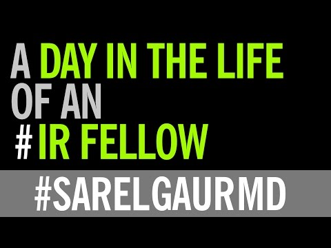 Day in the Life of an Interventional Radiology Fellow