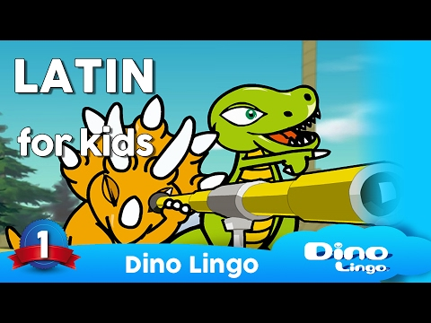 Learning Latin for kids - Latin lessons for children -  full DVD set