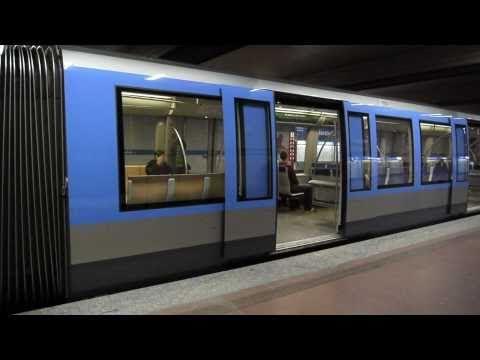 U-Bahn München : Implerstraße U3 & U6 [1080p]