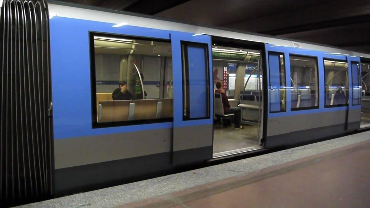 U Bahn M 252 Nchen Implerstra 223 E U3 Amp U6 1080p Youtube