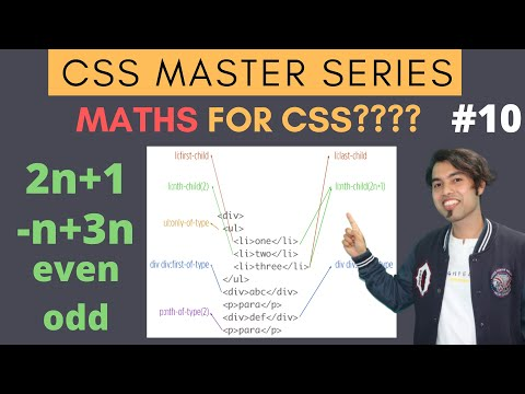 :First-Child :Last-Child :nth-Child(2n+1) Pseudo Selectors In CSS Master Series In Hindi #10