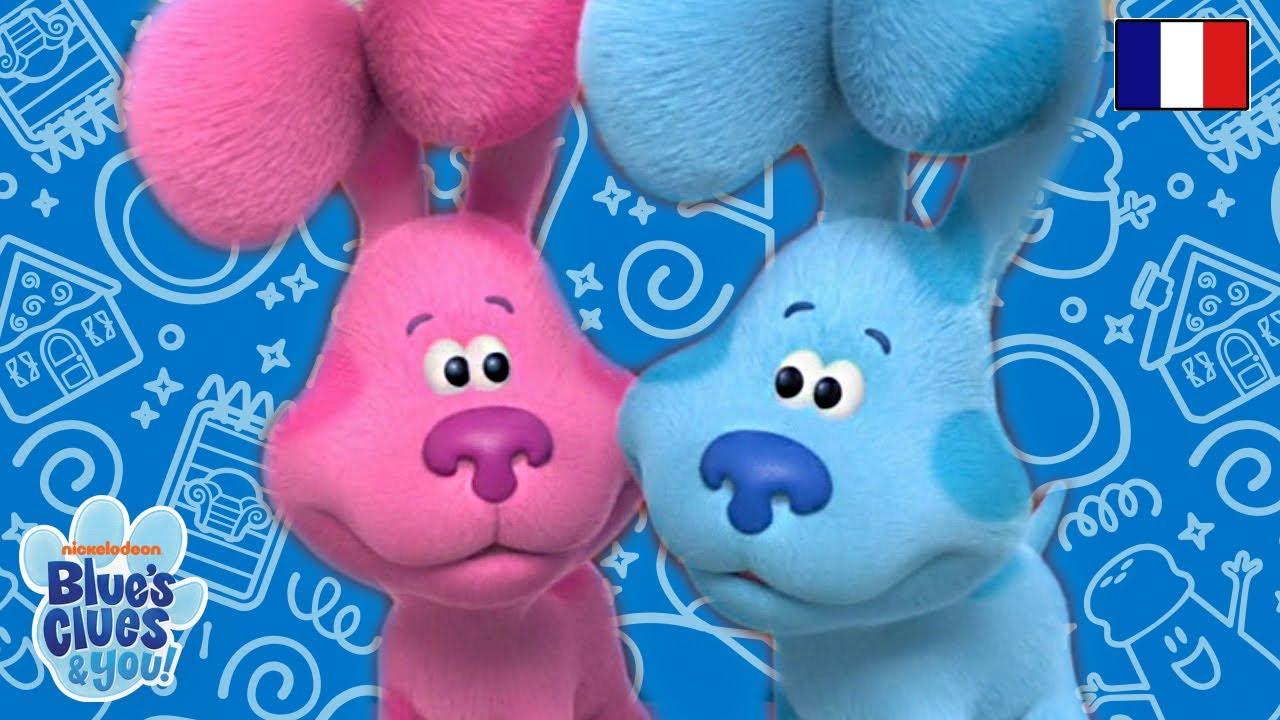 Blue s'amuse avec Magenta | Blue's Clues & You!