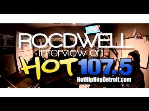 Rocdwell Interview @ Hot 107.5 Detroit