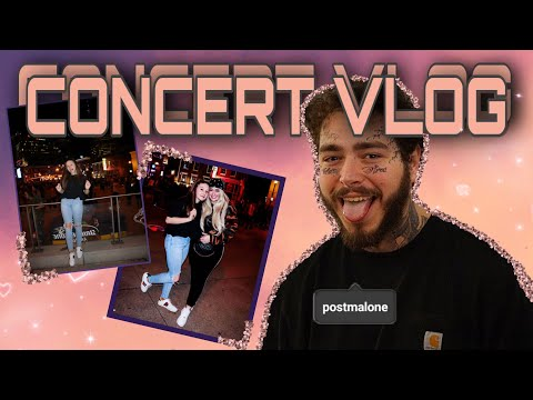 VLOG: SURPRISE POST MALONE CONCERT | Jennica And Annica