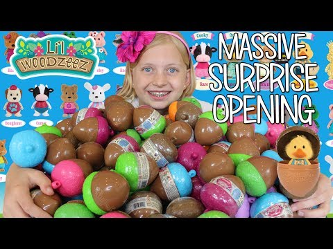 Thumbnail: HUGE Surprise Toy Egg Opening with Lil Woodzeez