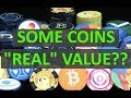 """What Crypto Coins Have """"Real"""" World Use Value?"""