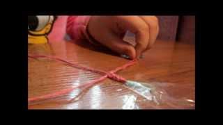 Урок 1. Плетение фенечки из 3 ниток.wmv