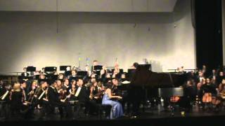 Sherry Kim plays Rachmaninoff Piano Concerto No. 1 with MSM Symphony