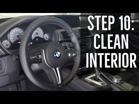 Step 10: How to Clean Your Car's Interior - BMW F80 M3