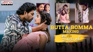 Butta Bomma Song Making | Ala Vaikunthapurramuloo | Allu Arjun - Pooja Hegde | Trivikram | Thaman S