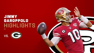 Jimmy Garoppolo Best Throws from 257-Yd Game | NFL 2021 Highlights