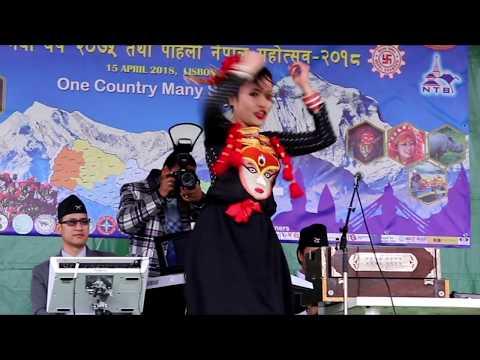 Newari Culture Dance in Nepal Festival Portugal