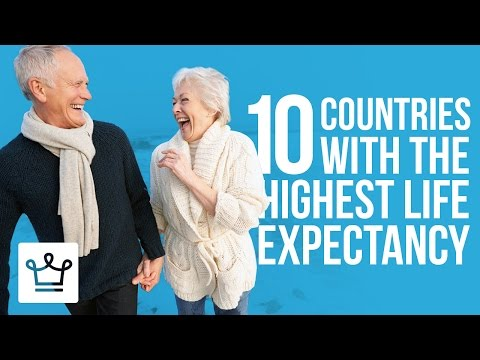 Top 10 Countries With The Highest Life Expectancy In The World