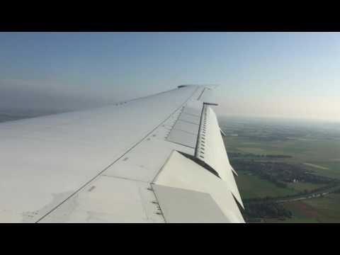 Delta B764-400 Morning Landing In Munich, Germany