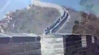 Ascenso a la muralla china