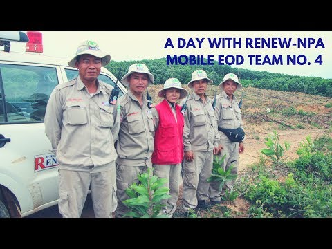 One Day With The RENEW-NPA Mobile EOD Team No. 4