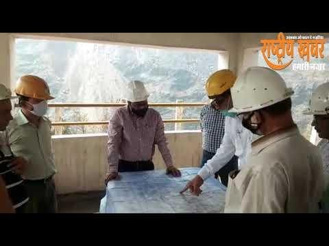 सीसीएल सीएमडी ने बेरमो क्षेत्र का दौरा किया निर्देश भी दिये