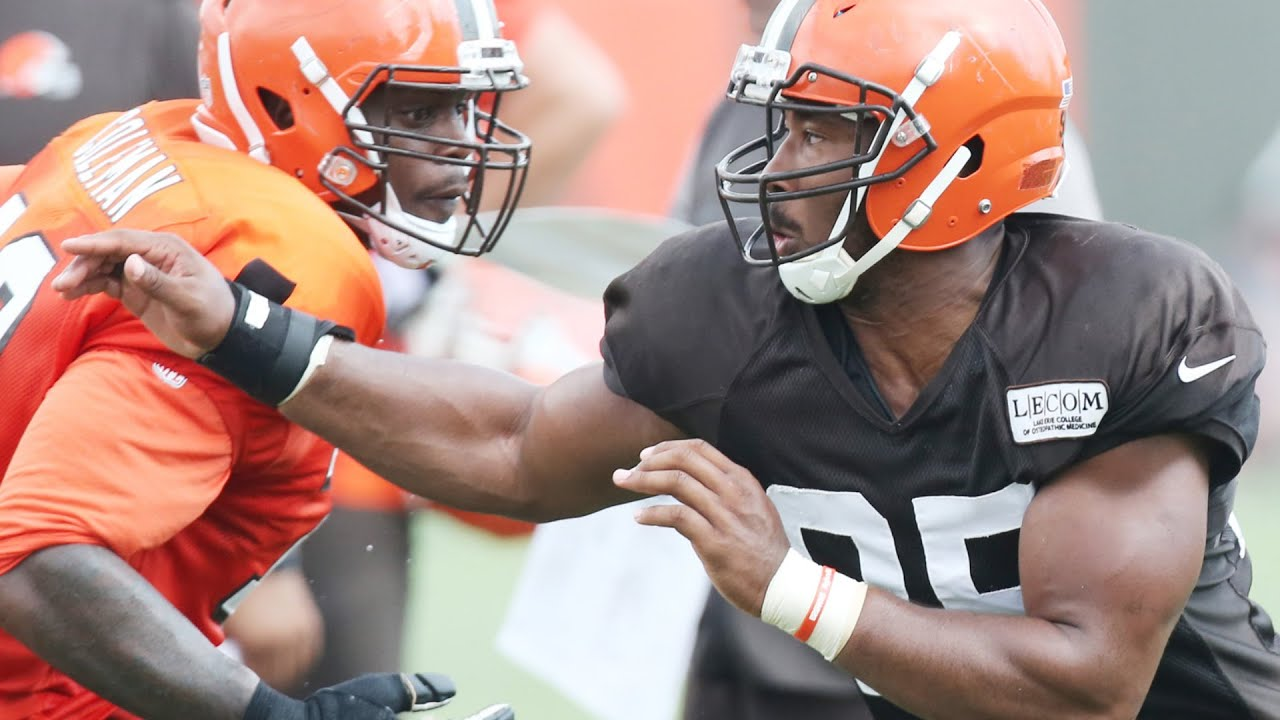 Browns' Garrett out to 'send a message' in preseason debut