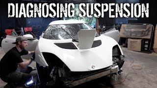 Budget Lotus Evora Pt 3 - Diagnosing Suspension