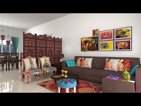 Furdo Home Interior Design Themes : Jaipur | 3D Walk-through | Bangalore
