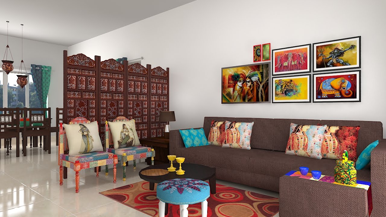 Lovely Furdo Home Interior Design Themes : Jaipur | 3D Walk Through | Bangalore