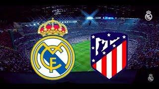 Real Madrid 1 vs 1 Atlético Madrid