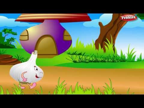 Garlic Rhyme | Vegetable Rhymes for Children | Nursery Rhymes for Kids | Most Popular Rhymes HD